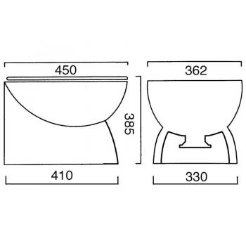 WC eléctrico Ocean Deluxe